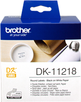etiketten Brother DK-11218