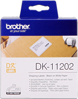 etiketten Brother DK-11202