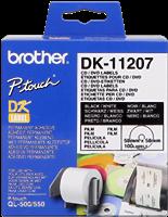 etiketten Brother DK-11207