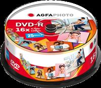 Agfa Photo 1x25 DVD-R/4,7 GB/Cakebox