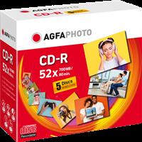 Agfa Photo 1x5 CD-R/700 MB/Jewel Case