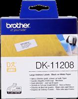 etiketten Brother DK-11208