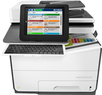 Multifunctioneel apparaat HP PageWide Enterprise Color Flow MFP 586z