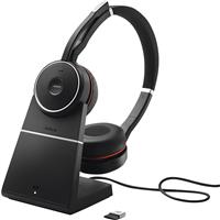 Jabra Evolve 75+ UC Wireless Stereo On-Ear Headset