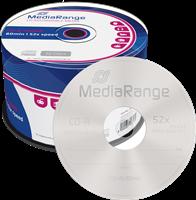MediaRange CD-R onbewerkt 700 MB | 80 min