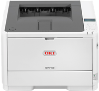 Laser Printer Zwart Wit OKI B412dn
