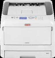 Kleurenlaserprinters OKI C833n