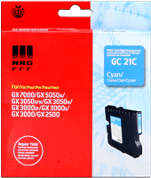 Ricoh gel cartridge GC-21C cyan