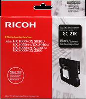 Ricoh gel cartridge GC-21K zwart