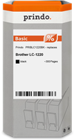 inktpatroon Prindo PRIBLC1220BK
